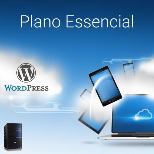 Plano Essencial - Hospedagem Profissional em WordPress