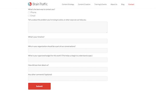 formulário de contato no WordPress