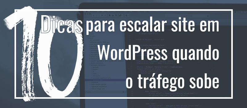 Escalonar site em WordPress - 2WP