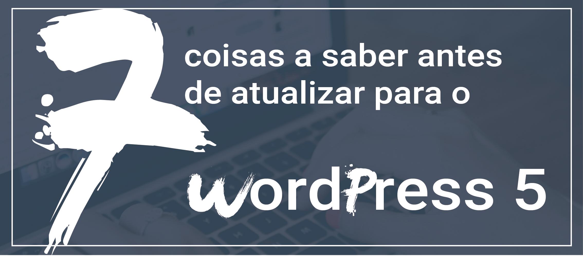 atualizar o WordPress