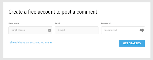 Quadros de comentários